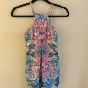 Floral pastel dress
